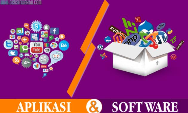 Read more about the article √ Perbedaan Antara Aplikasi Dan Software