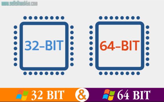 You are currently viewing √ Pengertian Dan Perbedaan Antara Windows 32 Bit Dan 64 Bit