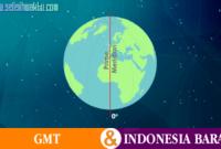 Selisih Waktu GMT Dengan Indonesia Barat