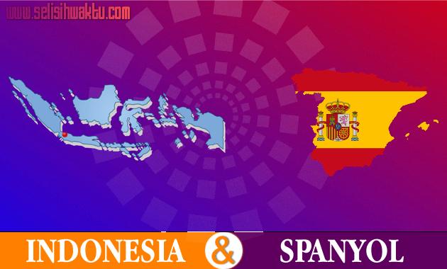 Selisih Waktu Indonesia Dengan Spanyol