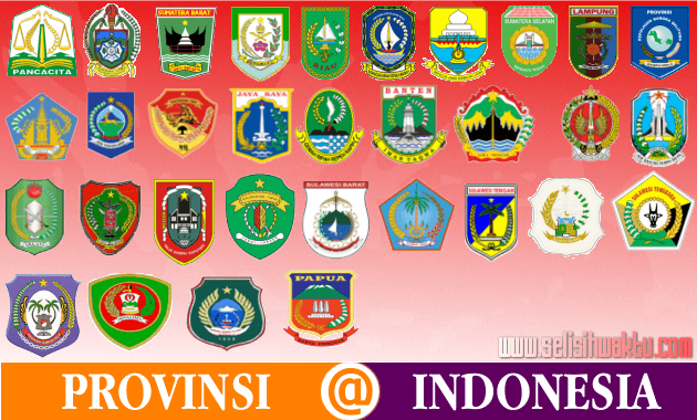 logo provinsi di indonesia