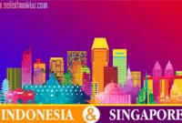 selisih waktu indonesia - singapore